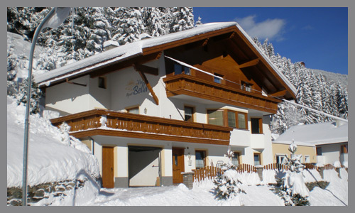 apartments in Kappl - Ski-vacation in Tyrol
